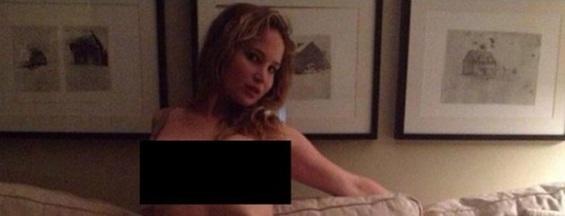 หนึ่งในภาพหลุดของ Jennifer Lawrence