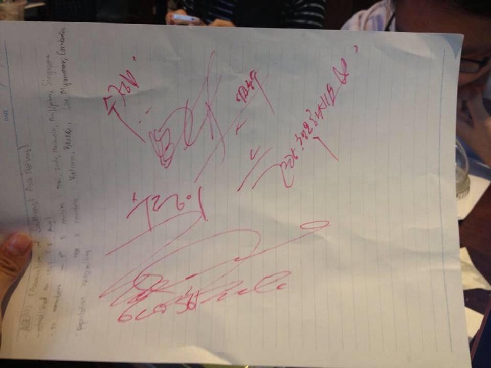 ขอบคุณภาพจาก Jo In Sung Thailand Fanclub