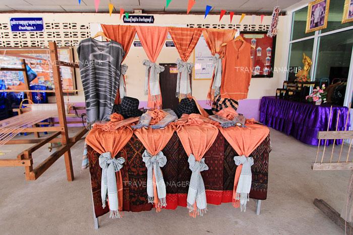 ผลิตภัณฑ์ต่างๆของผ้าภูอัคนี