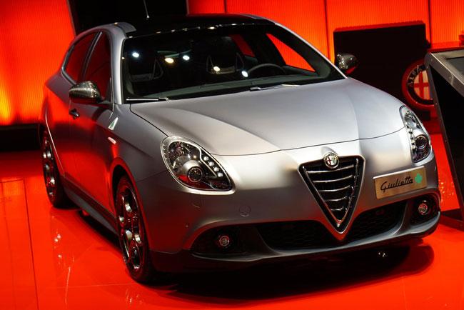 Alfa มีการเปิดตัวรุ่นปรับโฉมของ Guiletta ด้วย
