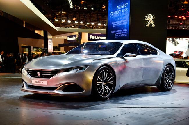 ความสวยและลงตัวในแบบสปอร์ตซีดานของ Peugeot Exalt 2.0 โดยว่ากันว่าอาจจะเป็นตัวแทนของรุ่น 508