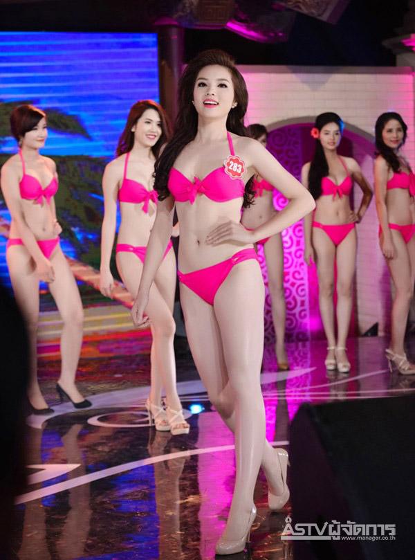 เต็มจอเต็มตา 38 สาวงามในชุดว่ายน้ำ มิสเวียดนามคึกคัก..คึกคัก