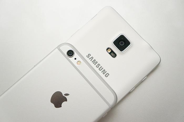 Samsung Galaxy Note 4 ปะทะ Apple iPhone 6 Plus กล้องใครเจ๋งกว่ากัน!?