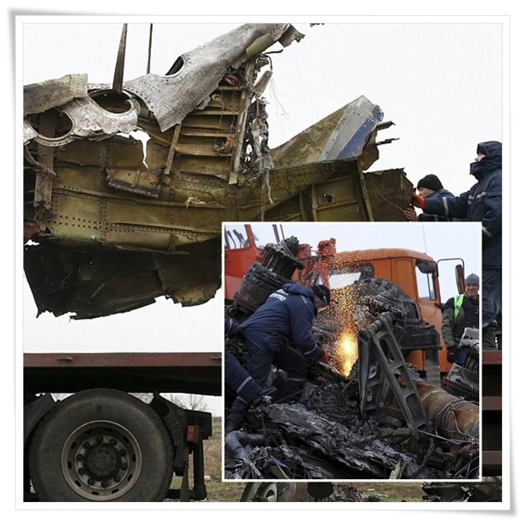 """In Pics: ทีมสอบสวนเริ่มขนซาก MH17 ส่งกลับเนเธอร์แลนด์ - เปโรเชนโก ประกาศ """"พร้อมรบกับรัสเซียเต็มรูปแบบ"""""""