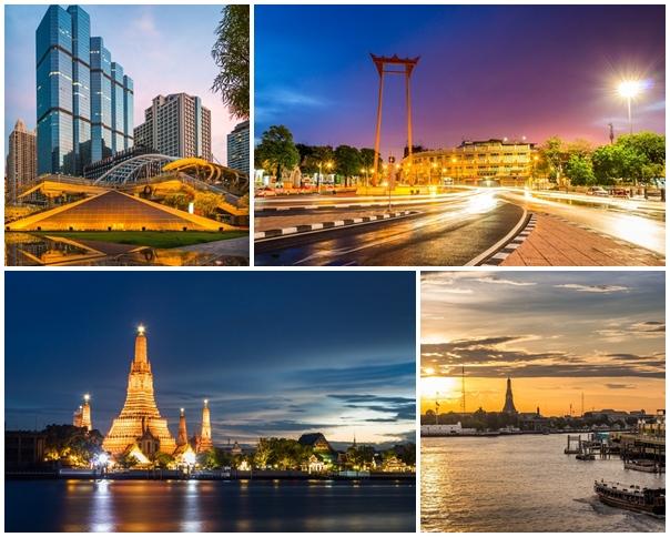 สวยตรึงตา!! 13 สถานที่ถ่ายรูปในกรุงเทพฯ ตอนเย็น