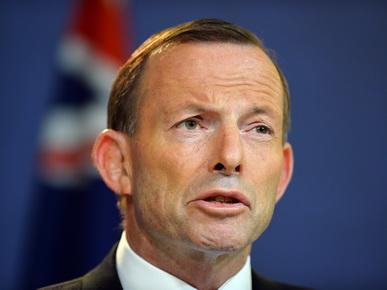 นายกรัฐมนตรี โทนี แอบบ็อตต์ แห่งออสเตรเลีย