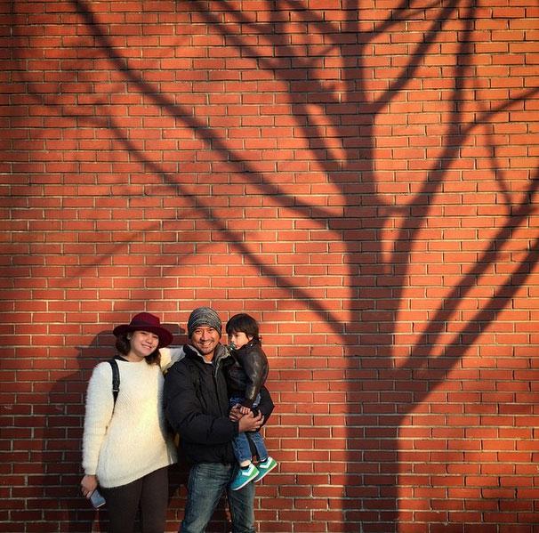 พ่อลูกดารากับภาพแสนอบอุ่นบน IG