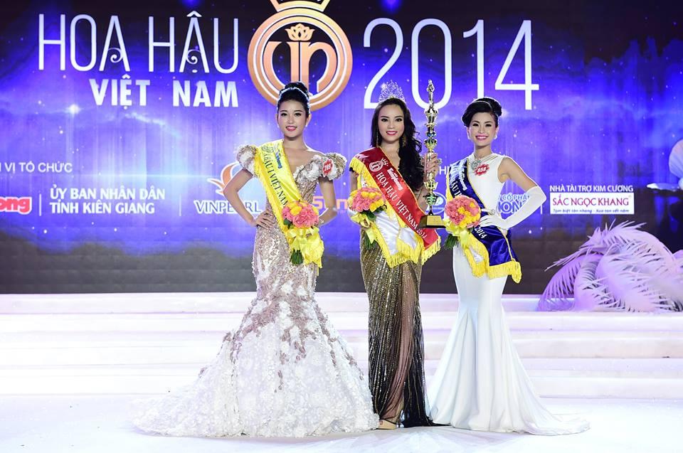 สาวชาวเหนือผงาดคืนครองมงกุฎ Miss Vietnam 2014