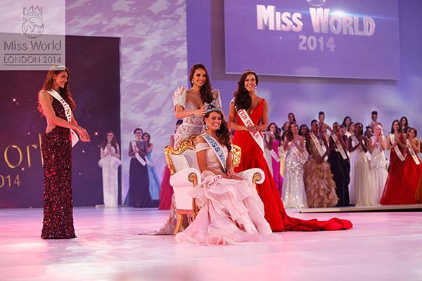 'เมญ่า' ชนะใจชาวโลกด้วยผลโหวต Miss people's choice บนเวที Miss World 2014