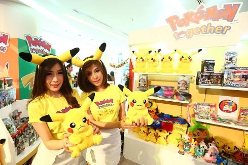 """ทรู ไอคอนเท้นท์ คว้าลิขสิทธิ์ เดอะ โปเกมอน คอมปานีจากญี่ปุ่น ร่วมบริหารลิขสิทธิ์แบรนด์โปเกมอนเป็นรายแรกและรายเดียวในไทย พร้อมเปิดตัวแคมเปญแรก """"Pokémon Together"""""""
