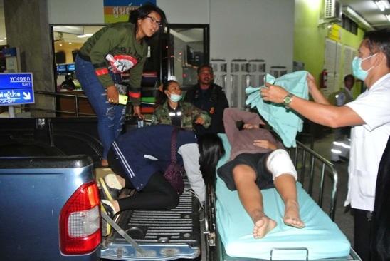 โจ๋บ้านเพซ่าป่าระเบิดปิงปองใส่กลุ่มวัยรุ่นนั่งฉลองปีใหม่เจ็บ 1 ราย