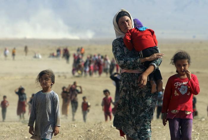 """แคนาดาประกาศ """"เปิดพรมแดน"""" รับผู้ลี้ภัยสู้รบ IS ในอิรัก - ซีเรียเพิ่มอีกนับหมื่น"""