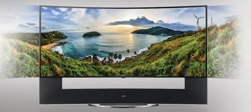 LG CURVED ULTRA HD TV ล้ำสมัยด้วยนวัตกรรมจอโค้ง