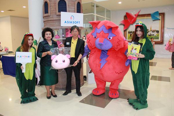Asiasoft นำ Cosplay ร่วมกิจกรรมงานวันเด็กแห่งชาติ 2558