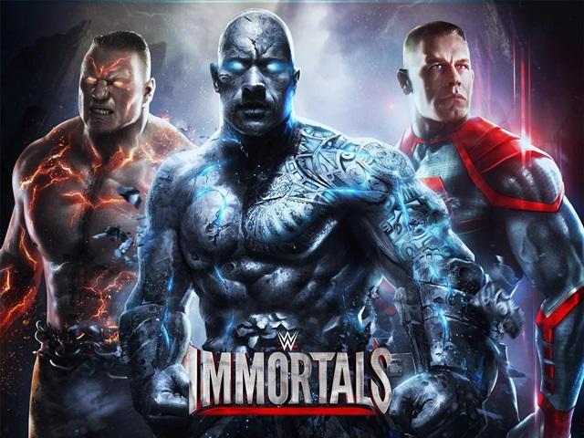 """เกมมวยปล้ำ WWE ภาคพิสดาร """"Immortals"""" เปิดโหลดบนสมาร์ตโฟน"""