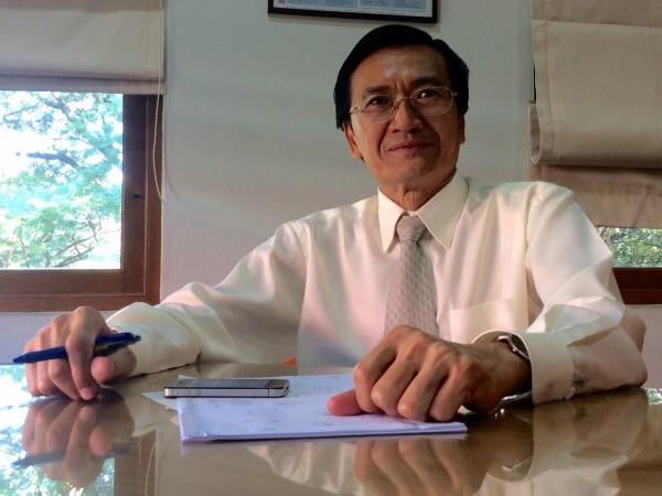 ศ.ดร.สุพจน์ หารหนองบัว อุปนายกสมาคมวิทยาศาสตร์แห่งประเทศไทยในพระบรมราชูปถัมภ์