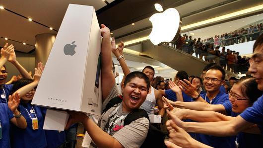 'แอปเปิล' หวานฉ่ำที่จีน