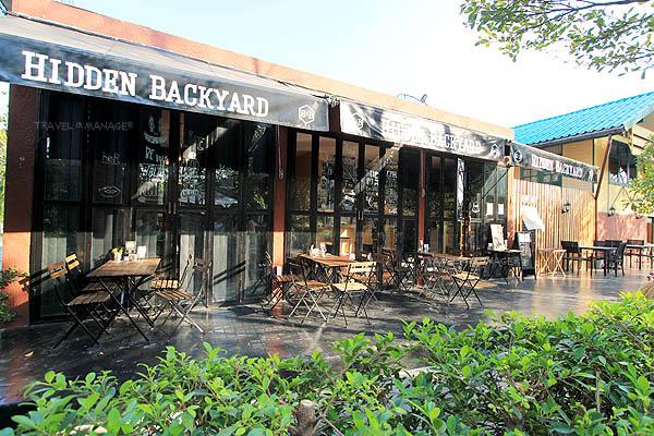 """""""Hidden Backyard"""" นั่งชิลล์ในสวนหลังบ้าน อิ่มหนำกับเมนูอร่อย"""