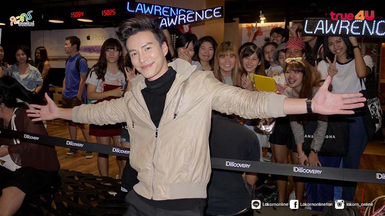 ลอแรนซ์ วอง นักแสดงจากสิงคโปร์