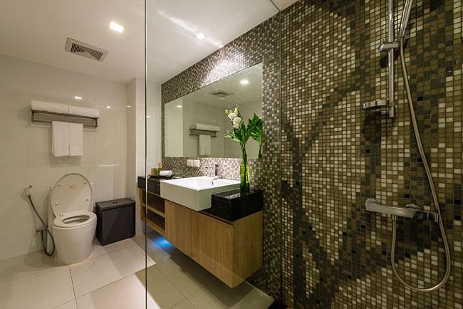 ห้องน้ำอันสะดวกสบาย