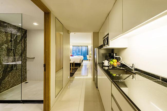 มุมครัวเล็กๆ ภายในห้อง