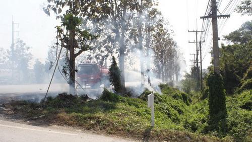 ผู้ว่าฯ พะเยาสั่งตามจับคนบ้าชอบวางเพลิงเผาขยะ หวั่นก่อเหตุซ้ำ