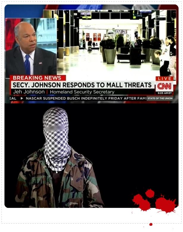 """In Pics : อัลเชบับเจ้าของผลงานถล่ม """"ห้างเวสต์เกตในเคนยา"""" ออกวิดีโอคลิป ปลุก """"โลนวูฟ"""" โจมตีห้างในอังกฤษ-แคนาดา-สหรัฐฯ"""