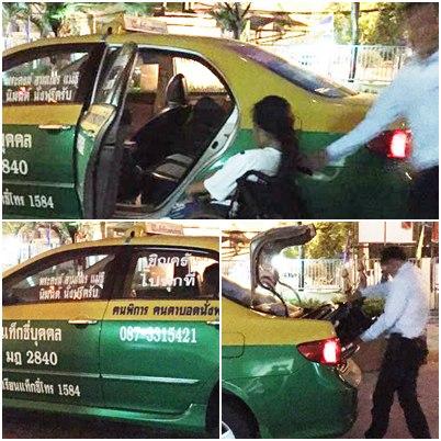 ที่ดียังมีอยู่! แท็กซี่ไปทุกที่รับส่งพระคนพิการฟรี