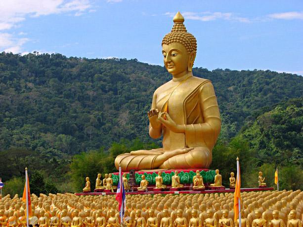 พุทธอุทยานมาฆบูชาอนุสรณ์ หนึ่งเดียวของไทย หนึ่งเดียวของโลก