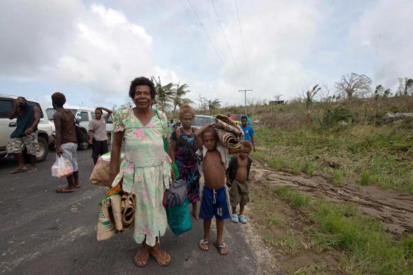 UNICEF Photo of the Week : เด็ก 6 หมื่นคนต้องการความช่วยเหลือหลังพายุไซโคลนแพมถล่มวานูอาตู