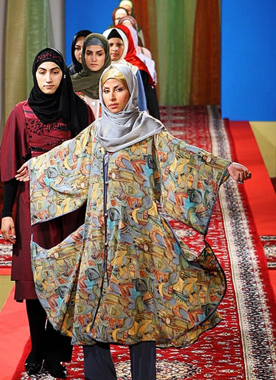 Hijab & Islamic Fashion Show (Iran)