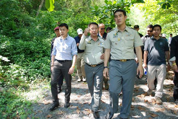 """ชุดปฏิบัติการ ก.ยุติธรรม-ทหาร ลุยสอบดำเนินคดีสนามแข่งรถ """"โบนันซ่า"""" ฉาวฮุบป่าสงวนฯ กว่า 100 ไร่(ชมคลิป)"""