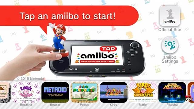 """Amiibo Tap"" ลูกเล่นใหม่อามีโบ้ ""แตะ"" ปลดล็อคเดโม"