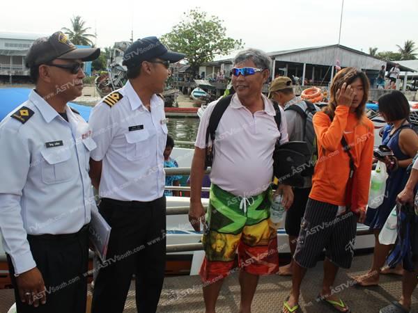 เจ้าท่าพังงาคุมเข้มความปลอดภัยทางทะเล นักท่องเที่ยวแห่ลงเกาะ