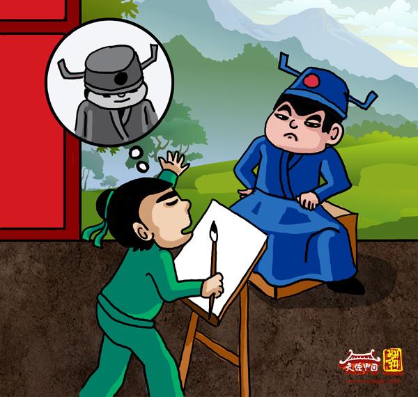 เรื่องชวนหัวในยุคราชวงศ์จีน ตอน วาดรูปเหมือนให้ท่านผู้บัญชาการ
