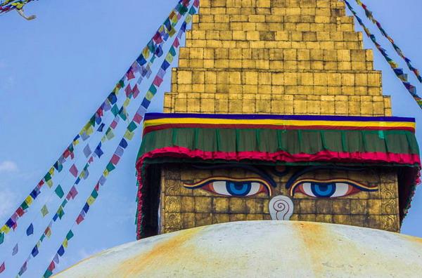 เจดีย์โพธินาถ (Boudhanath stupa)