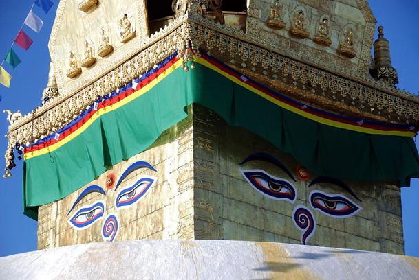 เจดีย์สวยัมภูวนาถ (Swayambhunath stupa)