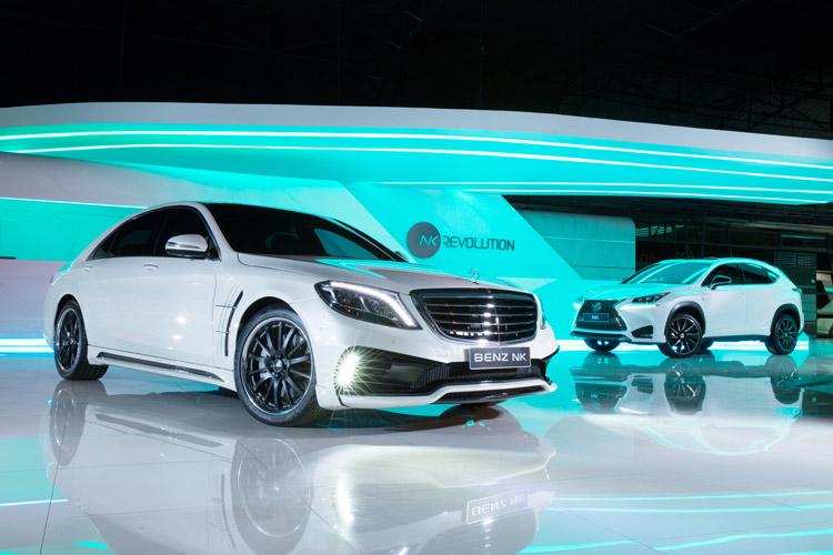 BENZ NK เปิดตัว S-Class - NX WALD Complete Car
