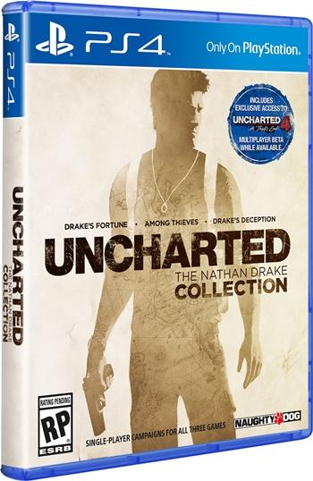 """Uncharted"" จับเหมารีมาสเตอร์ไตรภาคลง PS4"