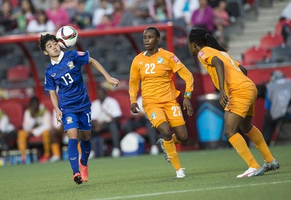 โดดเด่นในฟุตบอลโลกหญิง