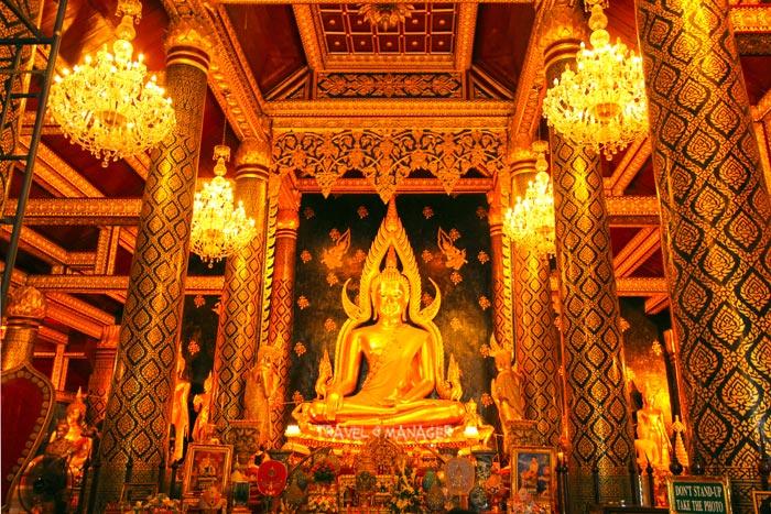 พระพุทธชินราช พระพุทธรูปองค์สำคัญของเมืองไทย