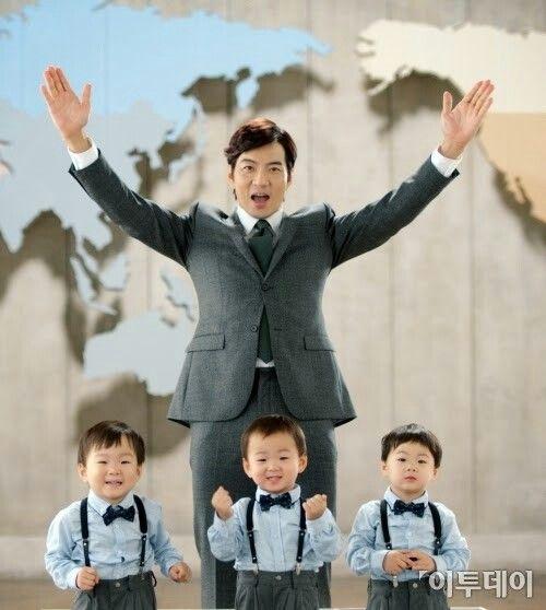 แฝดสามดังใหญ่แล้ว! ขึ้นแท่นสุดยอดพรีเซนเตอร์โฆษณาแดนกิมจิ