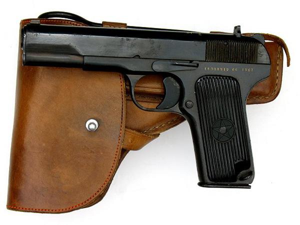 <FONT color=#000033>ปืนพก Type 54 ตอกาเรฟ สายพันธุ์จีน พร้อมซองหนังแท้อย่างดี เหมือนกับต้นฉบับราวกับแกะออกจากพิมพ์เดียวกัน ยังใช้มาถึงทุกวันนี้เช่นกัน.   </b>