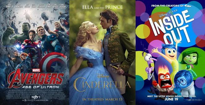 ผลงานฮิตของ Disney  ในช่วงครึ่งปีแรก