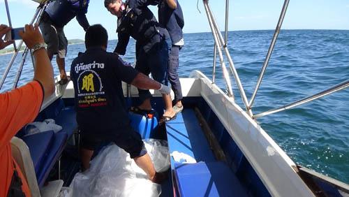 ฆ่าโหดหนุ่มนิรนาม ฟันร่างมัดคอโยนทะเลพัทยา