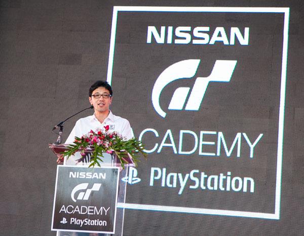 นายคะซุทากะ นัมบุ ประธาน บริษัท นิสสัน มอเตอร์(ประเทศไทย) จำกัด