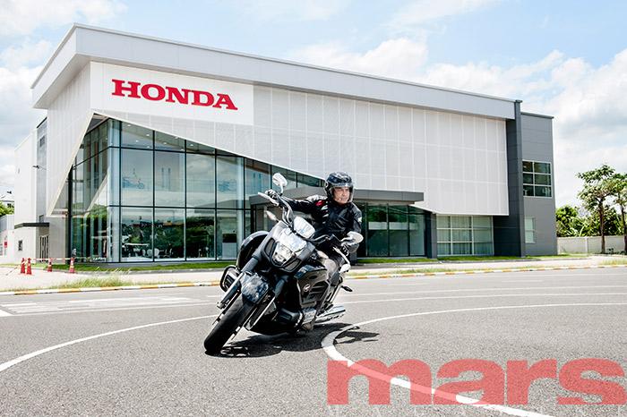 Honda Safety Riding Center เรียนรู้ขับขี่ปลอดภัยไปกับฮอนด้า