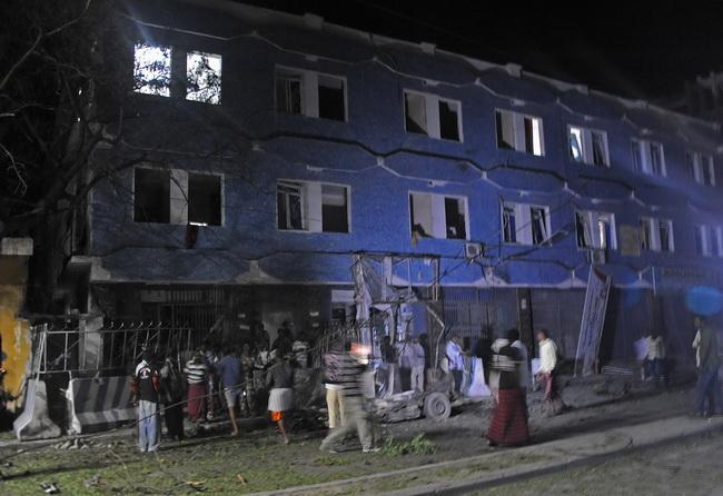 กลุ่มมือปืนจู่โจมโรงแรมโซมาเลีย2แห่งพร้อมกัน ตายอย่างน้อย6ศพ