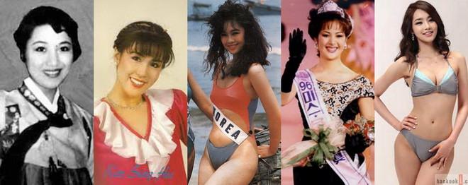"""""""นิยามความงาม?"""" ชมภาพความเปลี่ยนแปลง """"มิสเกาหลี"""" จากคนแรกถึงคนล่าสุด"""