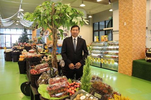 """พ่อค้าปากคลองฯ เปิดศูนย์กระจายผลไม้ไทย """"ไอยรา"""" กรุยทางอาเซียน"""